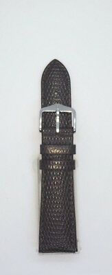 New Hirsch Rainbow Brown Leather Watch Strap 16Mm-18Mm-19Mm-20Mm-22Mm