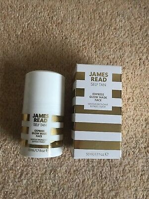 James tead Self Tan Express Glow Face Brand New In Box 50ml