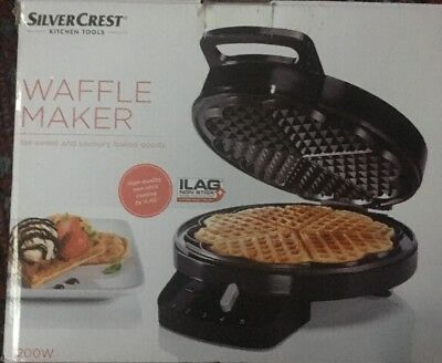 Silvercrest Electric Waffle Maker Top Quality1200W for making tasty waffle