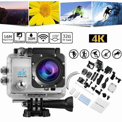 4K 16MP HD 1080P Action Cam Sport Kamera DV Helmkamera Video Wasserdicht WIFI DE