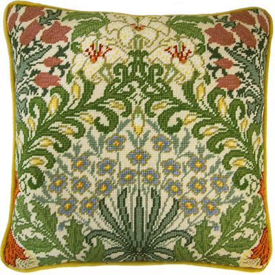 Bothy Threads ~ Tapestry Cushion Front Kit ~ William Morris ~ Garden ~ TAC8