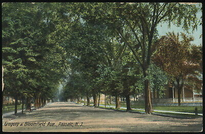 USA-(2020) PC Passaic N.J., Gregory &  Bloomfield Ave., 1912