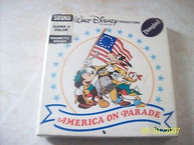 Walt disney America on Parade 8mm super 8 colour /sound