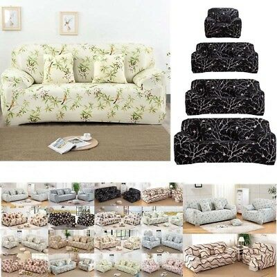 1 2 3 4 Seaters Sofa Covers Retro Cover Recliner Soft Couch
