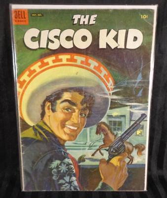 1954 #24 THE CISCO KID Adventure West Silver Age Dell Vintage Comic Book 10 cent