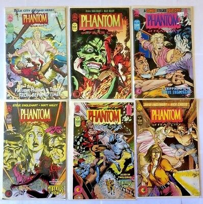 Phantom of Fear City issues 1-12 complete series lot