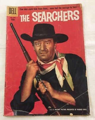 1956 The Searchers John Wayne Western Comic Book by Dell #709
