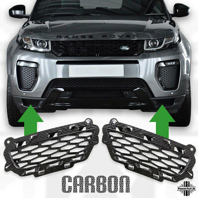 Bumper vent mesh Evoque dynamic in Carbon trim upgrade Lux Landmark HSE LR079667