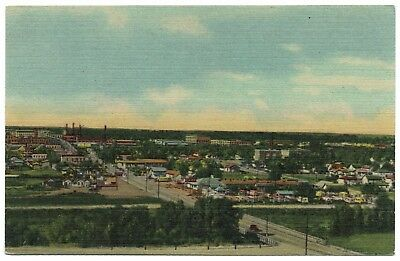 AK US USA Post Panorama of a Section of CHEYENNE ungelaufen v. 1945