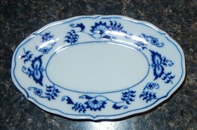 Vintage Blue Danube Soap Dish by Mascot Japan~EXC~Banner Mark~Fast Free Shipping