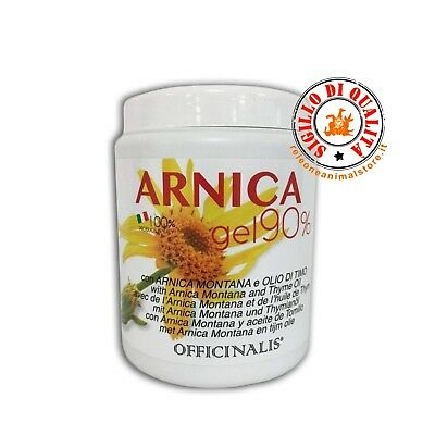 Officinalis Arnica 90% Gel Cavalli 1 Lt Antinfiammatorio,Distorsioni,Traumi