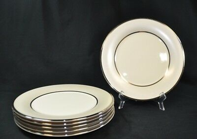LENOX Dimension Collection IVORY FROST Pattern Dinner Plate (bse)