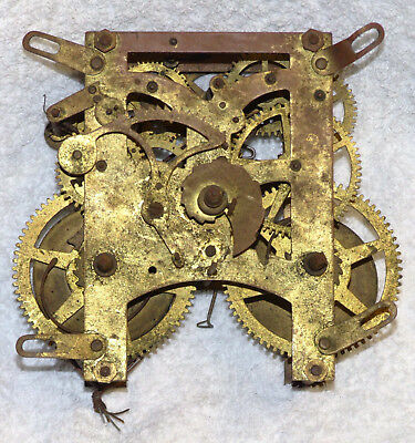 Old American Newhaven Clock Movement.