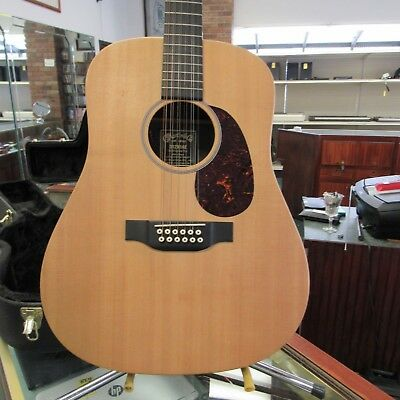 Musical Instruments & Gear Martin 12 String D12x1ae Acoustic Electric Guitar Strong Packing