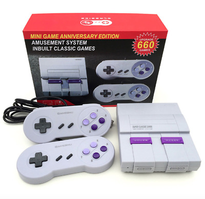 Classic Nintendo System Built in 660 NES Games Mini Edition 8 Bits New