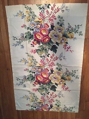 vintage barkcloth curtains drapes