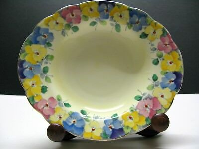 Art Deco Crown Staffordshire Dish 1906-30 retailed: Brown's Glasgow Scotland