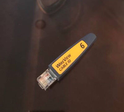 Fluke Netscout WireView  WireMap Cable ID Wiremapper Terminator # 6