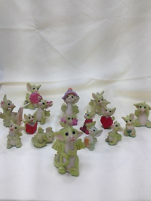 """Cheeky Adorable Collection of Hand made """"Pocket Dragons""""  by Real Musgrave#466"""