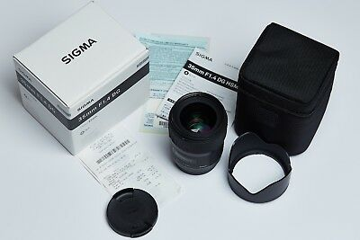 Sigma 35mm 1.4 Art, Prime Lens for Canon EF, excellent condition.