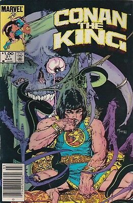 Conan The King #21 Marvel Comics 1984***vg+