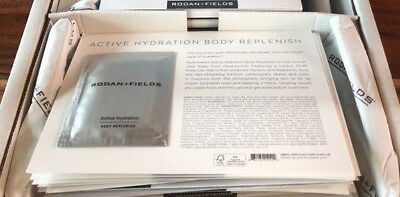 NEW Rodan + and Fields Active Hydration BODY Replenish 5 Samples 35ml total