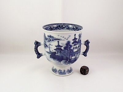 Very Fine Antique Chinese Blue & White Loving Cup Qianlong circa 1775
