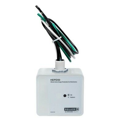Square D Whole Home Surge Protection for Electronics HEPD50