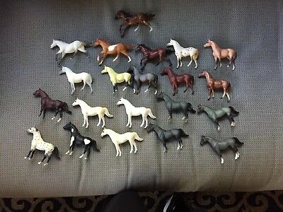 Large Lot Of 22 Vintage Breyer Stablemates (G1)- Includes Special Runs