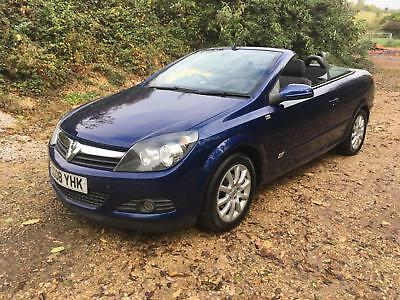 2008 Vauxhall Astra 1.8i 16v Coupe Twin Top Sport In Blue