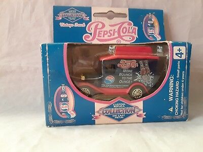 Pepsi Cola Diecast Metal Truck More Bounce To The Ounce