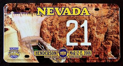 "ALPCA NEVADA "" HISTORIC HOOVER DAM - 21 "" NV Graphic Licence Plate"