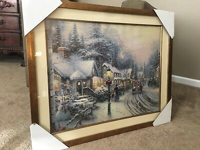 Thomas Kinkade Village Christmas
