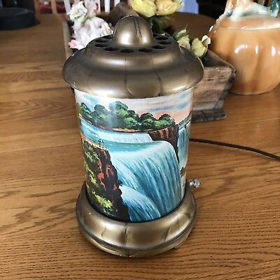 Vgt 1950 Econolite Roto-Vue Niagara Falls A B Leech Motion Lamp / Light Works