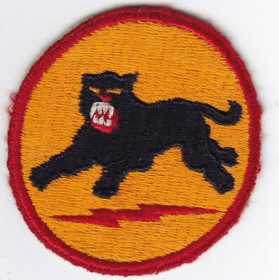 Original WWII US Army Patch - 1st Design - 66th Infantry Division - FE