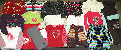 HUGE Lot of 2-5 YEAR Girls Fall/Winter Clothes, Excellent Condition, Baby Gap