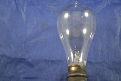 (1) Antique 1890 Working Light Bulb Single Pin Style Base