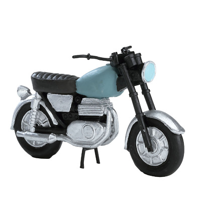NEW Lemax Village Town Motorcycle Bike Accessory Figurine Set Christmas Display