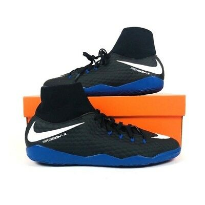 0493273d2 Nike HypervenomX Phelon III 3 DF IC Indoor Soccer Shoes Black 917768-002  Clothing