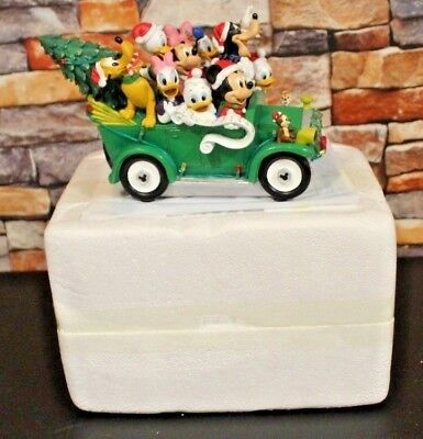 Bradford Exchange Disney Once Upon A Holiday Illuminated Musical Sculpture USED