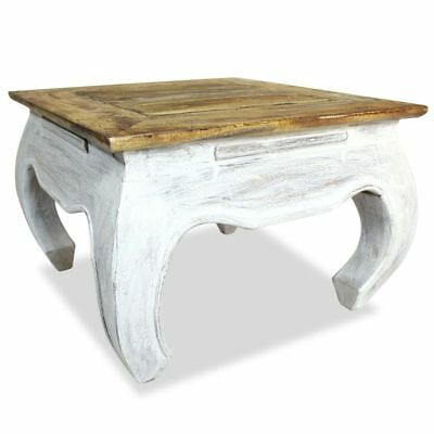 Side Table Solid Reclaimed Wood 50x50x35 cm
