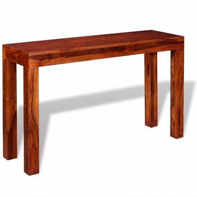 Console Table Solid Sheesham Wood 120x35x75 cm Home Decor Living Room Furniture