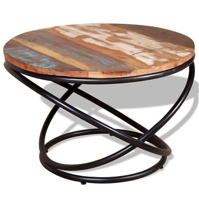 Coffee Table Solid Reclaimed Wood 60x60x40cm Home Furniture High Quality Durable