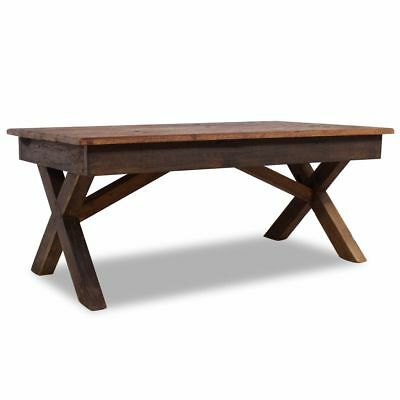 Coffee Table Solid Reclaimed Wood 110x60x45 cm