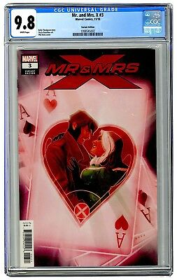 Mr and Mrs X 3 1:25 Noto Variant First Appearance of Xandra CGC 9.8