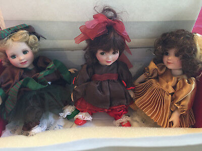 Marie Osmond Too Sweet tiny tot dolls Cherry Cordial, Mint Trufle, Caramel