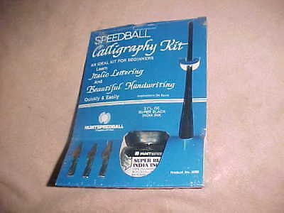 sealed    SPEEDBALL CALLIGRAPHY     BEGINNERS KIT