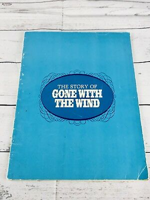 The Story Of GONE WITH THE WIND movie PROGRAM