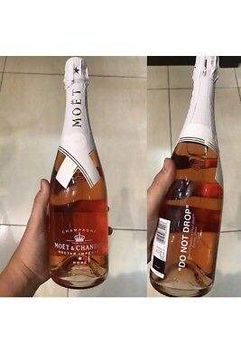 "Moet & Chandon x Off-White ""Do Not Drop"" Virgil Abloh Limited Edition IN HAND!"