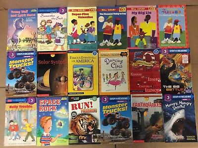 Lot of 60 Ready to-I Can Read-Step Reading RL Level 3 4 5 Learn Kids Book L59